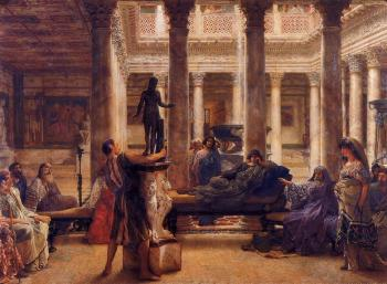 Sir Lawrence Alma-Tadema : A Roman Art Lover II