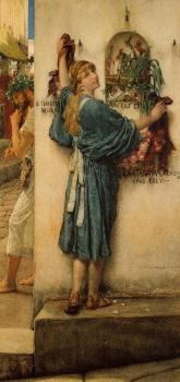 Sir Lawrence Alma-Tadema : A Street Alter