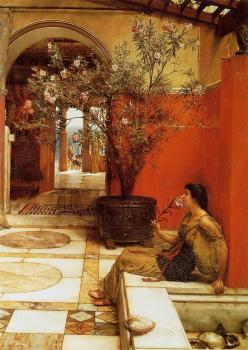 Sir Lawrence Alma-Tadema : An Oleander