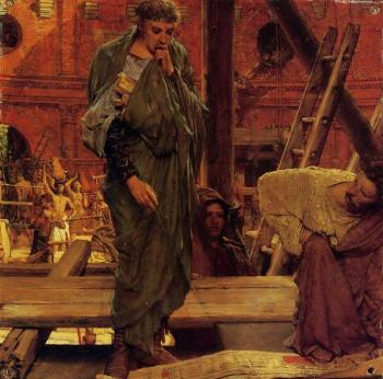 Sir Lawrence Alma-Tadema : Architecture in Ancient Rome