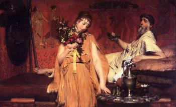 Sir Lawrence Alma-Tadema : Between Hope and Fear