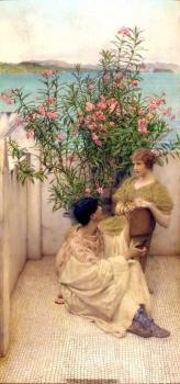 Sir Lawrence Alma-Tadema : Courtship