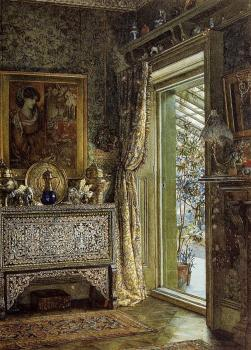 Sir Lawrence Alma-Tadema : Drawing Room, Holland Park