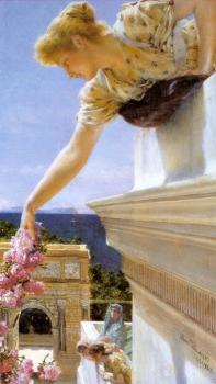 Sir Lawrence Alma-Tadema : God Speed