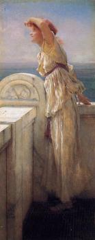 Sir Lawrence Alma-Tadema : Hopeful