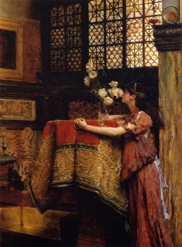 Sir Lawrence Alma-Tadema : In My Studio