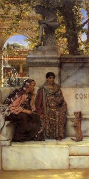 Sir Lawrence Alma-Tadema : In the Time of Constantine