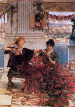 Sir Lawrence Alma-Tadema : Love's Jewelled Fetter