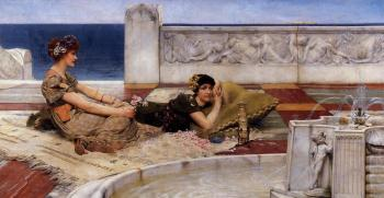 Sir Lawrence Alma-Tadema : Loves Votaries