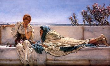 Sir Lawrence Alma-Tadema : Pleading
