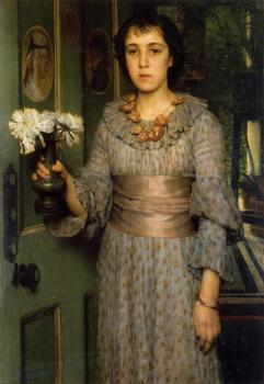 Sir Lawrence Alma-Tadema : Portrait of Anna Alma-Tadema