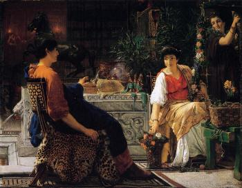 Sir Lawrence Alma-Tadema : Preparations for the Festivities