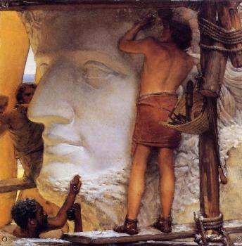 Sir Lawrence Alma-Tadema : Sculptors in Ancient Rome