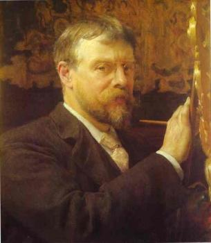 Sir Lawrence Alma-Tadema : Self Portrait II