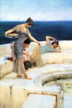 Sir Lawrence Alma-Tadema : Silver Favourites