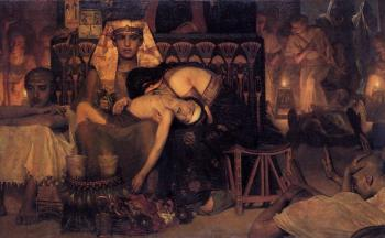 Sir Lawrence Alma-Tadema : The Death of the First Born