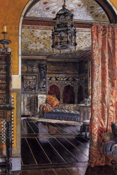 Sir Lawrence Alma-Tadema : The Drawing Room at Townshend House
