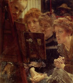 Sir Lawrence Alma-Tadema : The Family Group