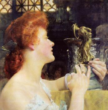 Sir Lawrence Alma-Tadema : The Golden Hour