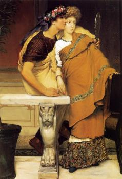 Sir Lawrence Alma-Tadema : The Honeymoon