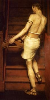Sir Lawrence Alma-Tadema : The Roman Potter