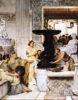 Sir Lawrence Alma-Tadema : The Sculpture Gallery