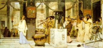 Sir Lawrence Alma-Tadema : The Vintage Festival