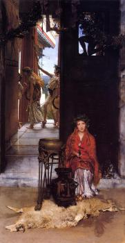 Sir Lawrence Alma-Tadema : The Way to the Temple