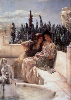 Sir Lawrence Alma-Tadema : Whispering Noon