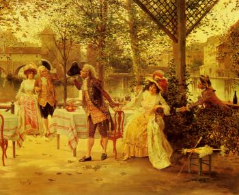 Alonso Perez : A Cafe By The River