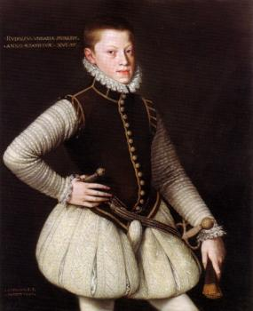 Rudolf II, Holy Roman Emperor as a young Archduke