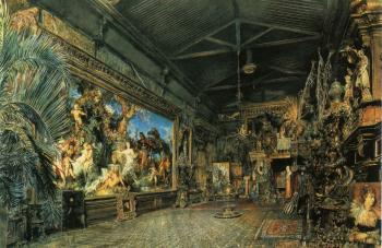 Das Atelier vor der Versteigerung (Hans Makart's Studio Before the Auction)