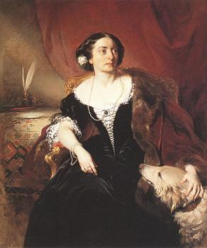 Friedrich Von Amerling : Countess Nako