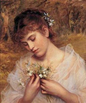 Sophie Gengembre Anderson : Love In a Mist