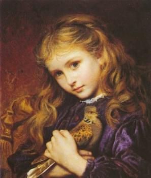 Sophie Gengembre Anderson : The Turtle Dove