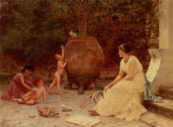 Sophie Gengembre Anderson : When The Heart Is Young