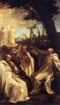 Andrea Sacchi : The Vision Of St Romuald
