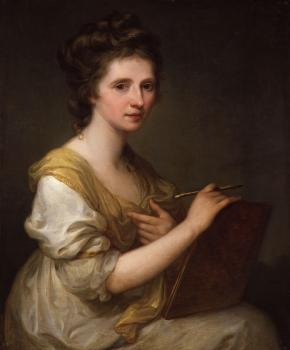 Angelica Kauffmann : Self-portrait