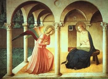 Fra Angelico : The Annunciation
