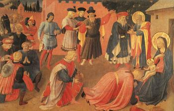 Fra Angelico : Adoration of the Magi