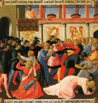 Fra Angelico : Massacre of the Innocents
