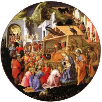 Fra Angelico : Adoration of the Magi (finished by Fra Filippo Lippi)