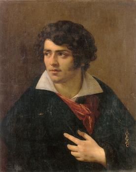 Anne-Louis Girodet De Roussy-Trioson : Portrait of a Young Man