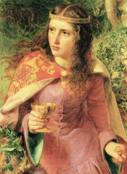 Anthony Frederick Augustus Sandys : Dimensions of original painting