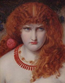 Anthony Frederick Augustus Sandys : Helen of Troy