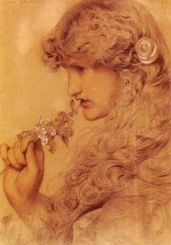 Anthony Frederick Augustus Sandys : Love's Shadow II