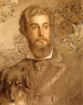 Portrait Of Cyril Flower, Lord Battersea