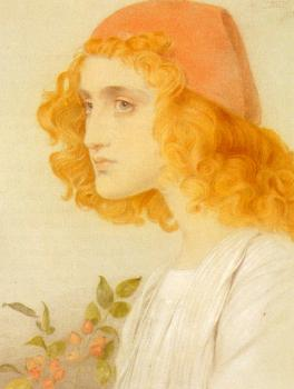 Anthony Frederick Augustus Sandys : The Red Cap