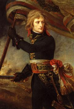Antoine-Jean Gros : Bonaparte on the Bridge at Arcole