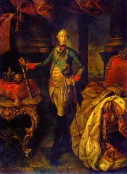 Portrait of Tsar Peter III